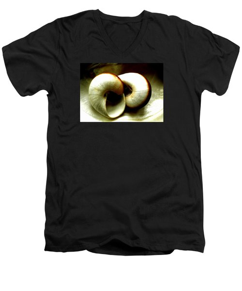 Sea Shells Meeting Men's V-Neck T-Shirt by Colette V Hera  Guggenheim