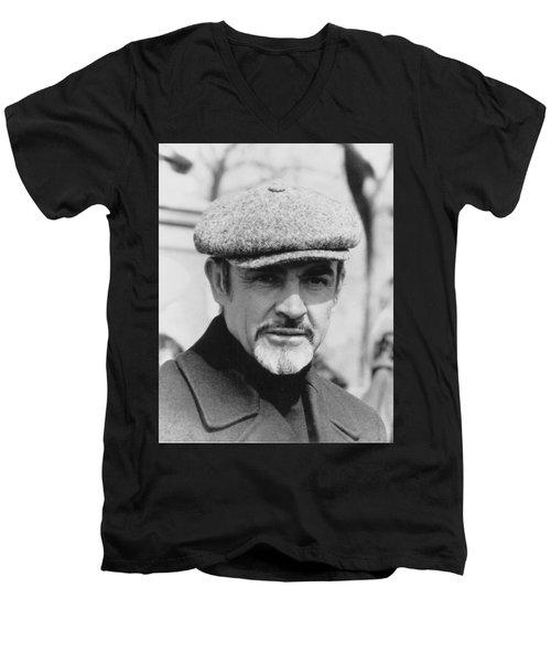 Sean Connery Men's V-Neck T-Shirt
