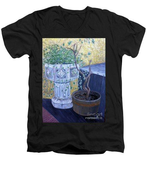 Sean's Planter Men's V-Neck T-Shirt