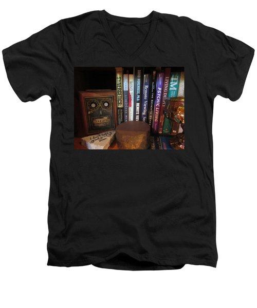 Searching For Enlightenment C Men's V-Neck T-Shirt
