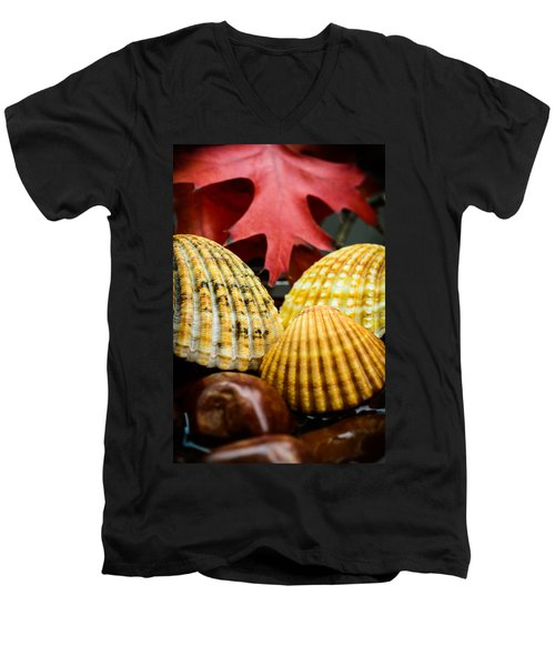 Seashells II Men's V-Neck T-Shirt