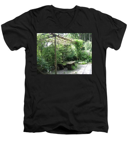 Seat Of Nature Men's V-Neck T-Shirt