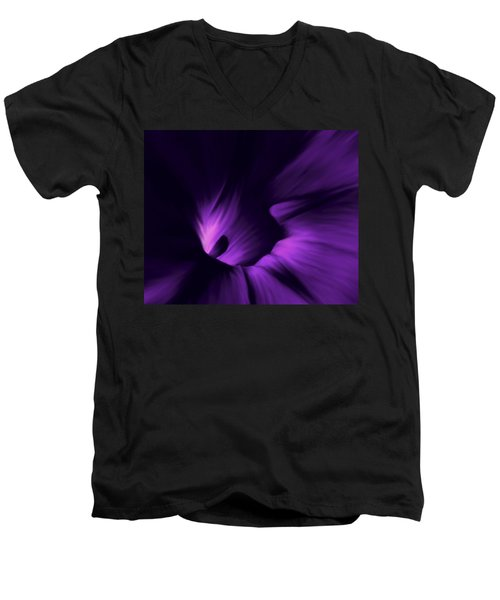 Secret Places Men's V-Neck T-Shirt by Barbara St Jean