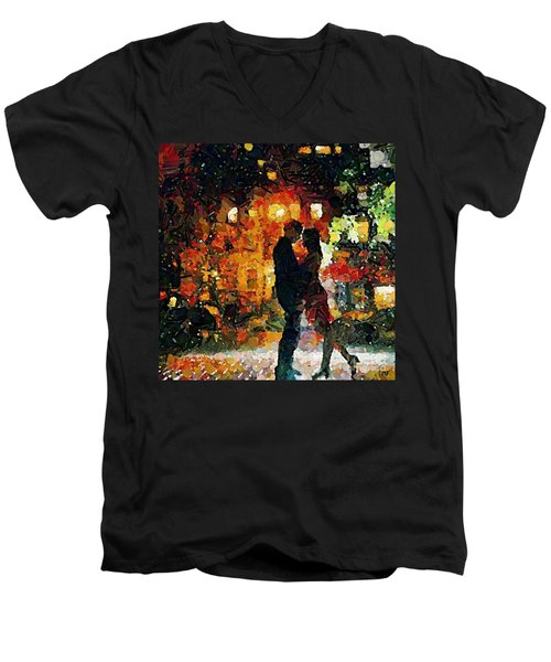 See You Tomorrow My Love Men's V-Neck T-Shirt