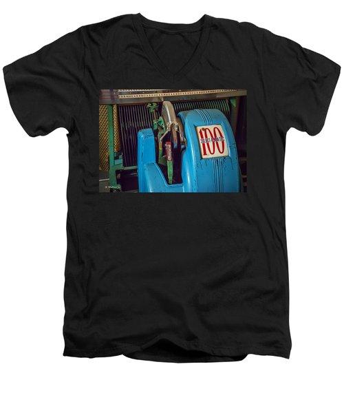 Seeburg Select-o-matic Jukebox Men's V-Neck T-Shirt
