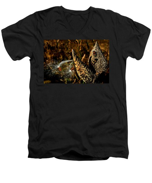 Seeds In The Wind Men's V-Neck T-Shirt