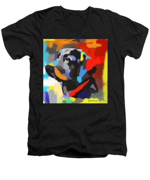Dog Sem Men's V-Neck T-Shirt