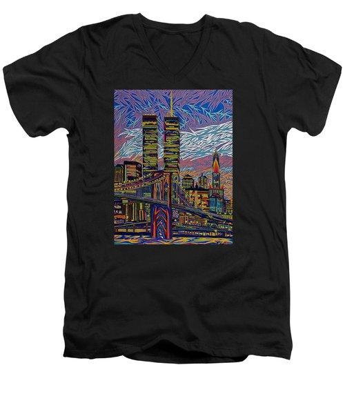 September 10th  Men's V-Neck T-Shirt