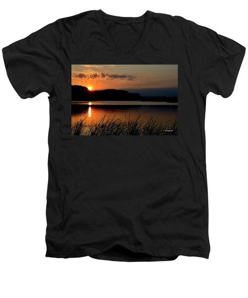 September Sunset Men's V-Neck T-Shirt