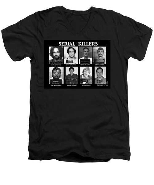 Serial Killers - Public Enemies Men's V-Neck T-Shirt