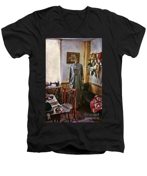 Sewing Room 1 Men's V-Neck T-Shirt