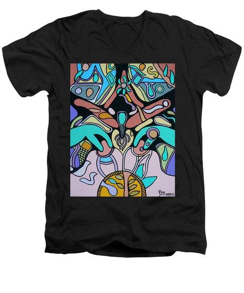 Sex Science Men's V-Neck T-Shirt by Barbara St Jean