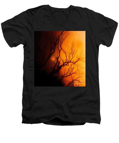 Shadowed Men's V-Neck T-Shirt