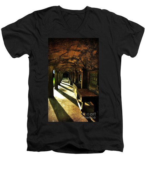 Shadows And Arches I Men's V-Neck T-Shirt