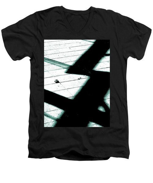 Shadows On The Floor  Men's V-Neck T-Shirt
