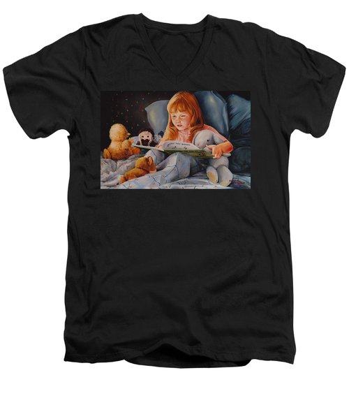 Shaina's Friends Men's V-Neck T-Shirt by Duane R Probus