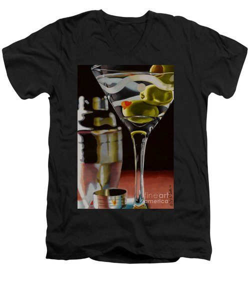 Shaken Not Stirred Men's V-Neck T-Shirt