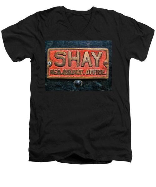 Shay Builders Plate Men's V-Neck T-Shirt