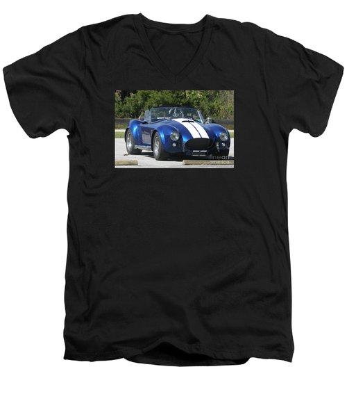 Shelby Cobra Men's V-Neck T-Shirt by Christiane Schulze Art And Photography