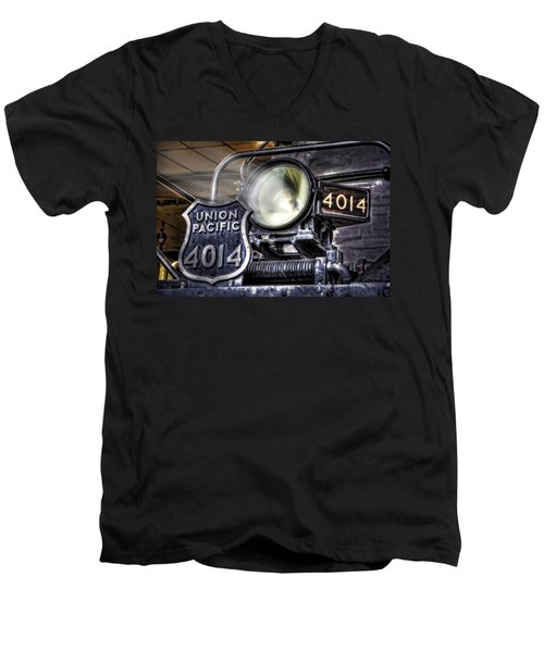 Men's V-Neck T-Shirt featuring the photograph Shine Bright by Ken Smith
