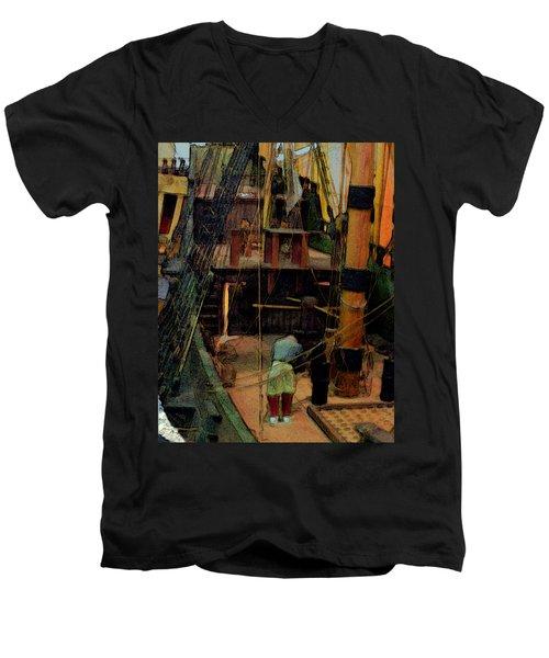 Ship's Carpenter Men's V-Neck T-Shirt