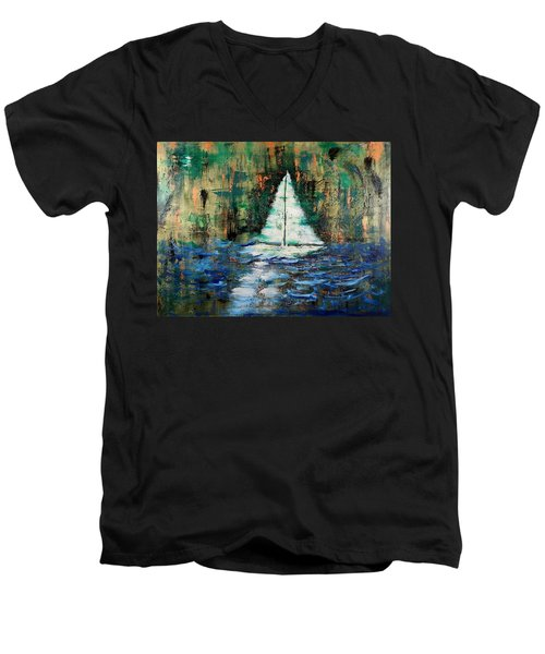 Shipwrecked Men's V-Neck T-Shirt