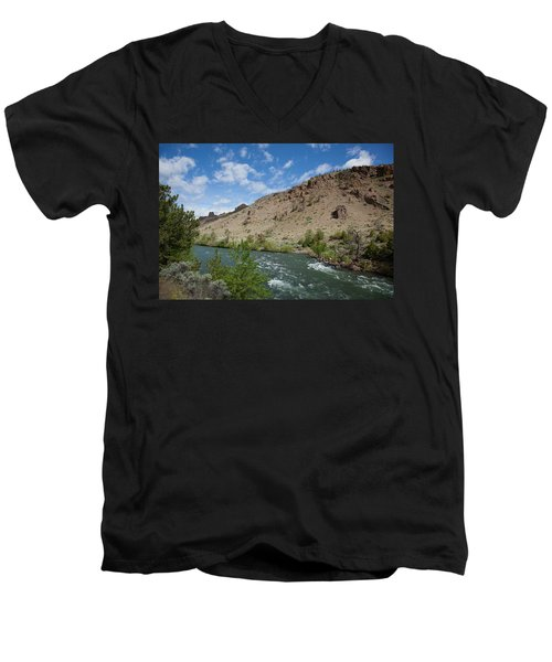 Shoshone River Men's V-Neck T-Shirt