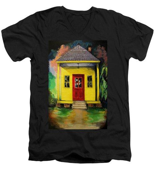Shotgun House Men's V-Neck T-Shirt