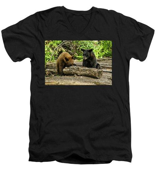 Sibling Lunch Men's V-Neck T-Shirt