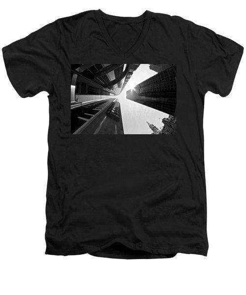 Sign In The Sky Men's V-Neck T-Shirt
