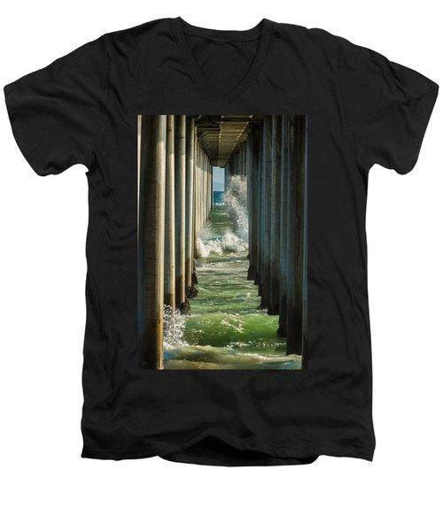 Sign Wave Men's V-Neck T-Shirt