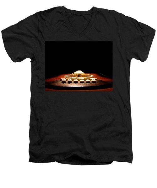 Silent Guitar Men's V-Neck T-Shirt
