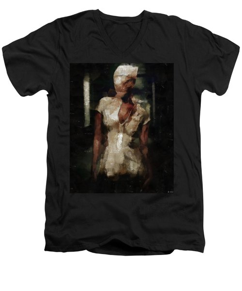 Silent Hill Nurse Men's V-Neck T-Shirt