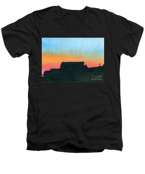 Silhouette Farmstead Men's V-Neck T-Shirt