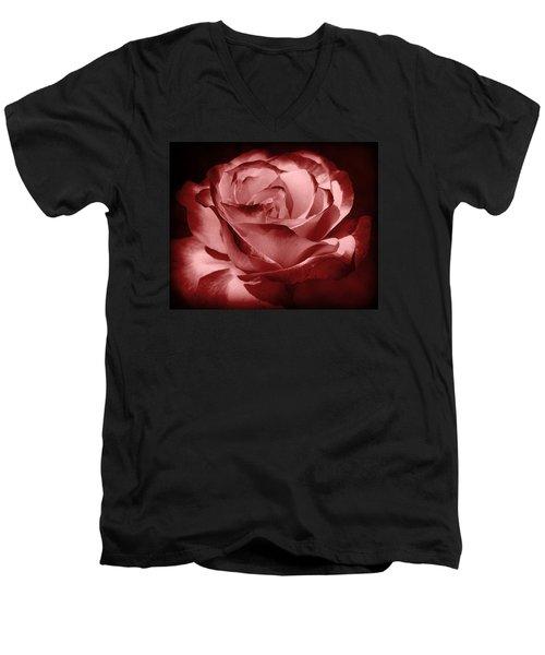 Silk  Men's V-Neck T-Shirt