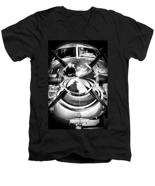 Silver 12 Men's V-Neck T-Shirt