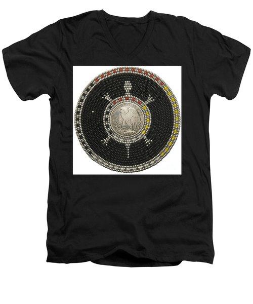 Silver Eagle Men's V-Neck T-Shirt