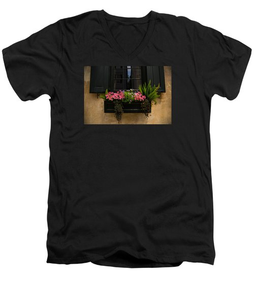 Simply Charleston Men's V-Neck T-Shirt