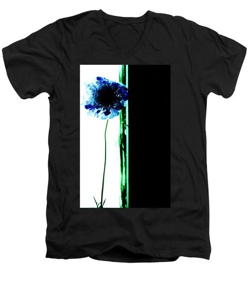 Men's V-Neck T-Shirt featuring the photograph Simply  by Jessica Shelton