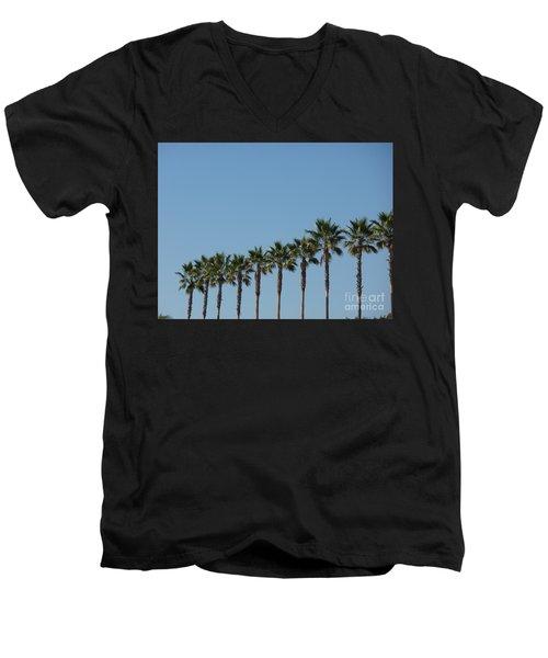 Simply Palms Men's V-Neck T-Shirt