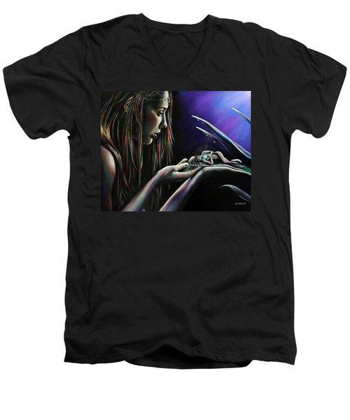 Sister Nature Men's V-Neck T-Shirt