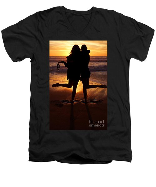Sister Sunset Men's V-Neck T-Shirt