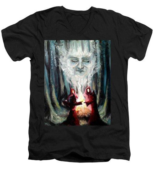 Sisters Of The Night Men's V-Neck T-Shirt by Shana Rowe Jackson
