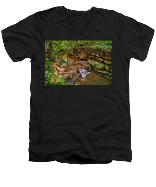 Skillet Creek Men's V-Neck T-Shirt