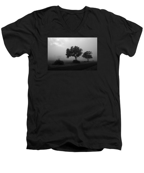 Men's V-Neck T-Shirt featuring the photograph Skc 0074 A Family Of Trees by Sunil Kapadia