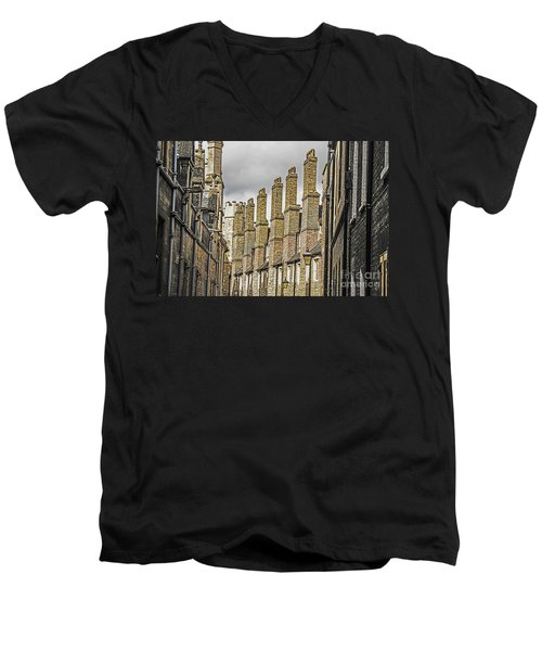 Skyline Of Cambridge Men's V-Neck T-Shirt