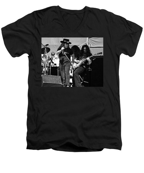 Skynyrd #26 Crop 2 Men's V-Neck T-Shirt