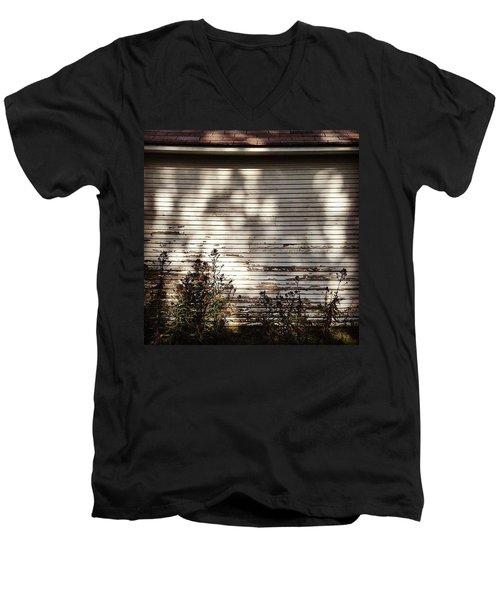 Slats And Shadows Men's V-Neck T-Shirt