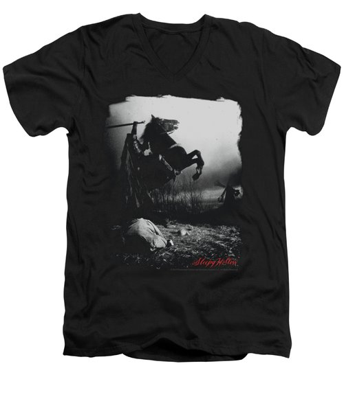 Sleepy Hollow - Foggy Night Men's V-Neck T-Shirt