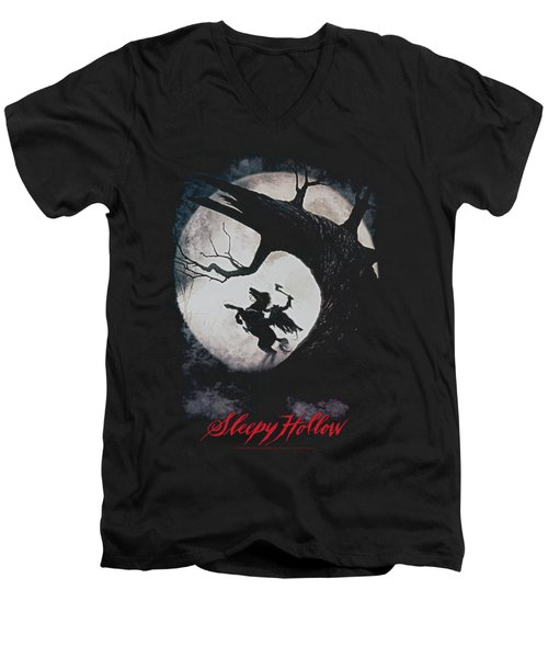Sleepy Hollow - Poster Men's V-Neck T-Shirt